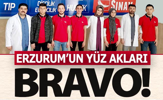 Erzurum'un yüzünü ak ettiler!