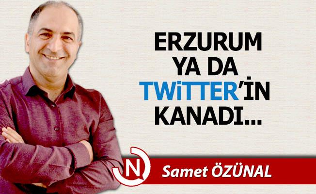 Erzurum ya da Twitter'in kanadı