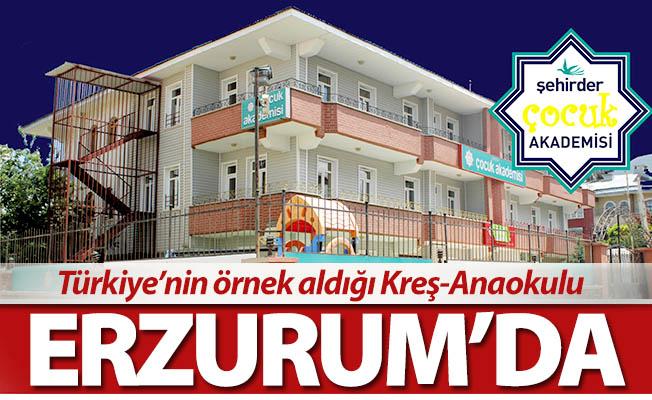 Türkiye'nin örnek tek Kreş-Anaokulu
