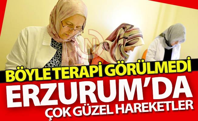 Erzurum'da çok güzel hareketler!..