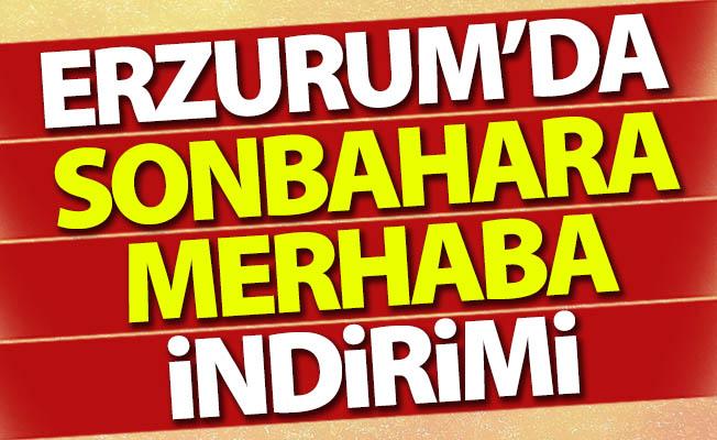 Erzurum'da herkes oraya koşuyor!