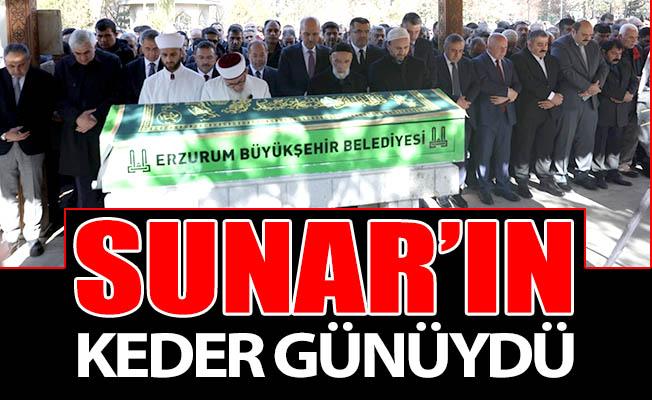 Başkan Sunar'ın keder günüydü
