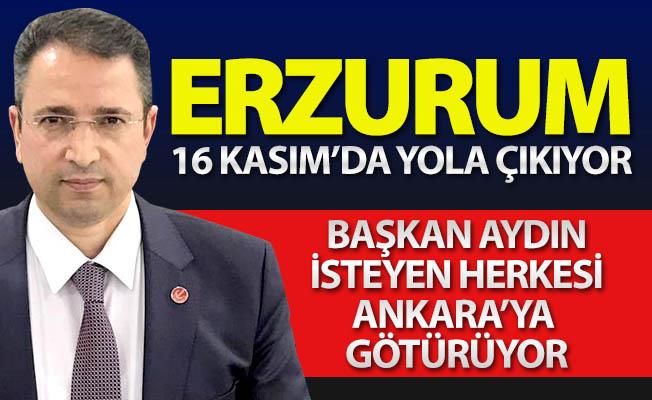Dadaşlara Ankara daveti...