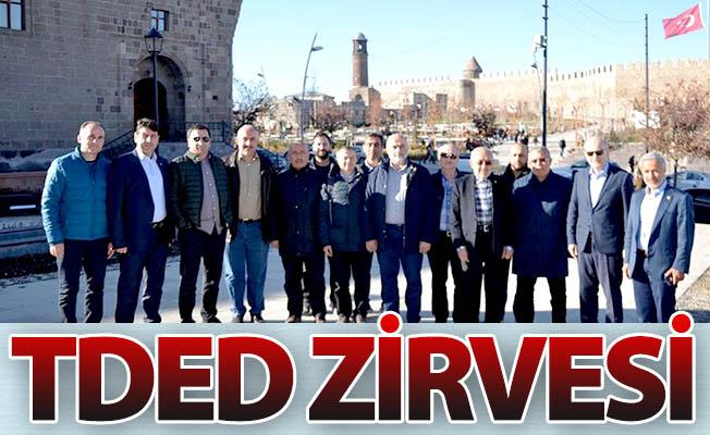 Erzurum'da TDED zirvesi