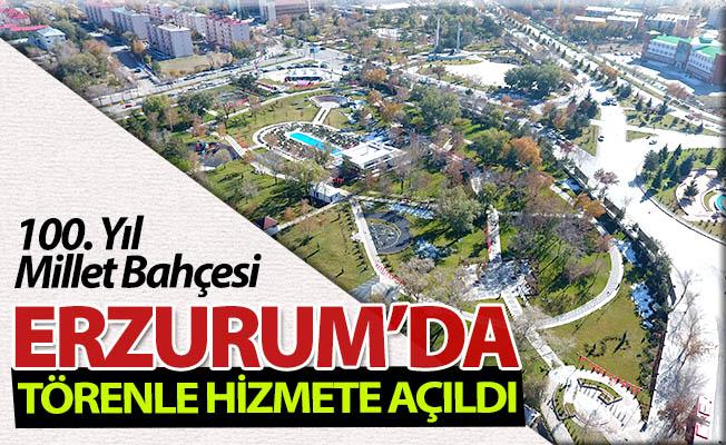 Erzurum'da törenle hizmete açıldı