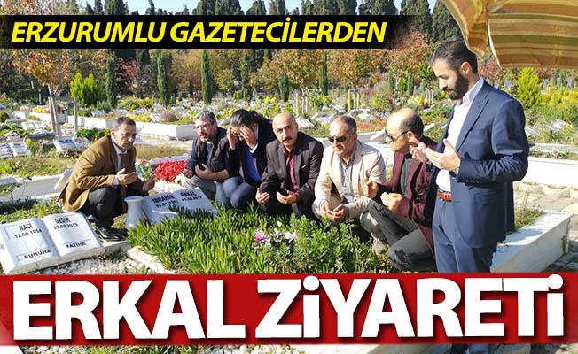 Gazetecilerden Erkal ziyareti