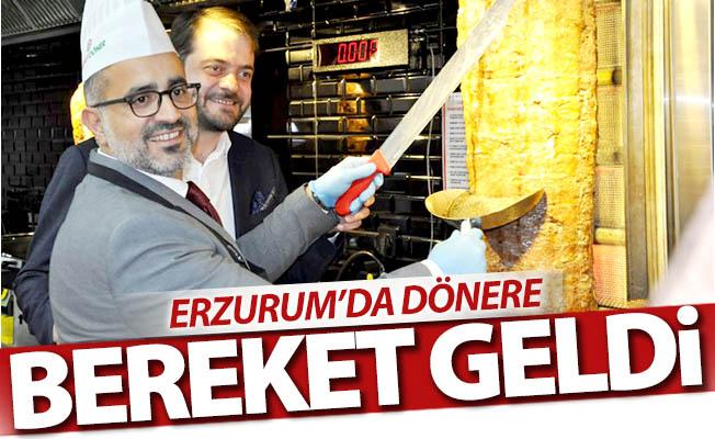 Erzurum'da dönere BEREKET geldi...
