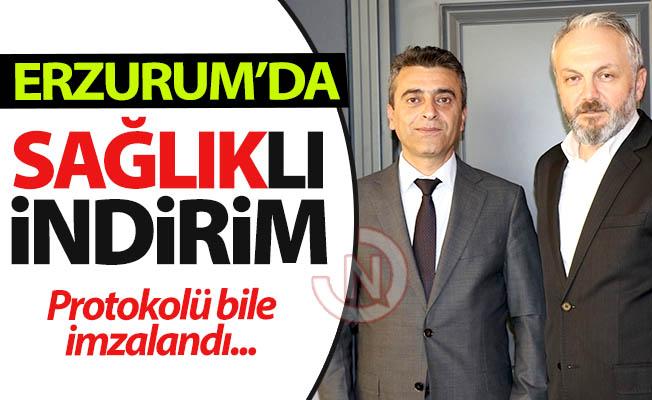 Erzurum'da indirimin en sağlıklısı!..