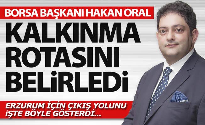 Erzurum'un çıkış yolunu gösterdi!