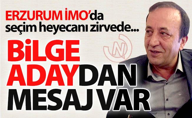 Erzurum İMO'da seçim heyecanı