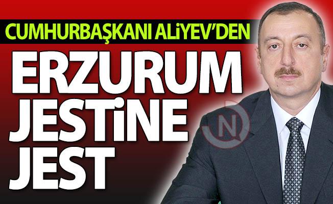 Erzurum jestine Aliyev jesti