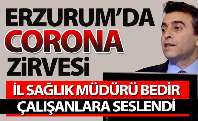 Erzurum'da CORONA virüsü zirvesi