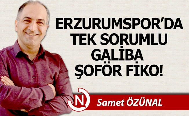Erzurumspor ve bir fotoğraf...