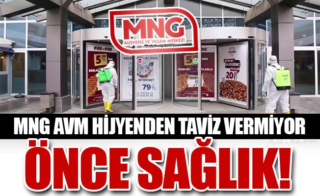 Erzurum MNG'de önce sağlık