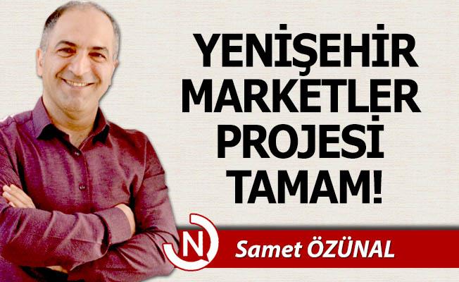 Yenişehir Marketler Projesi tamam!