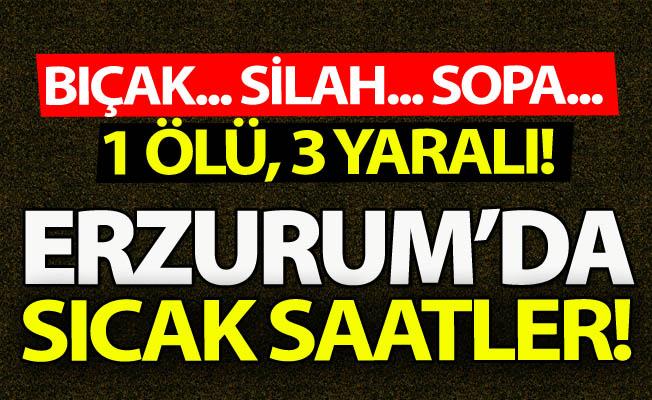 Erzurum'da yine silahlar konuştu!