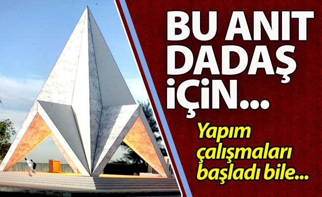 Bu anıt Dadaş'a özel...