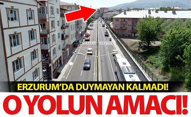 Erzurum'da duymayan kalmadı!