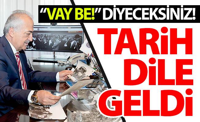 Erzurum'da tarih dile geldi!