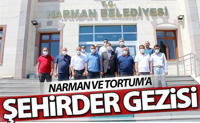 Narman ve Tortum'a ŞEHİRDER turu