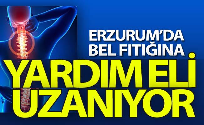 Erzurum'da bel fıtığına YARDIM eli...