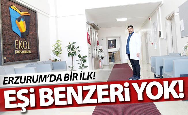 Erzurum'da eşi benzeri yok!