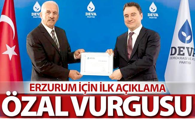 Erzurum'da ilk açıklama geldi...