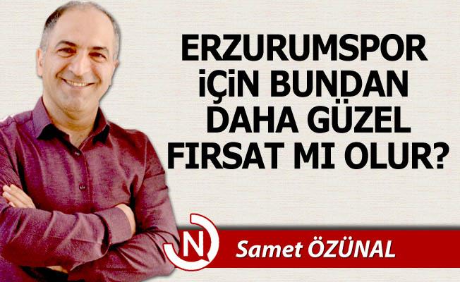 Fırsat Erzurumspor'un ayağına geldi!