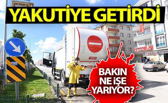Erzurum'a Yakutiye getirdi!