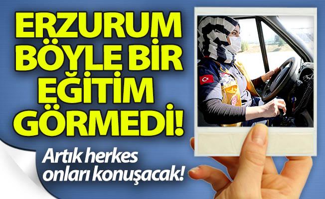 Erzurum böyle bir eğitim görmedi!