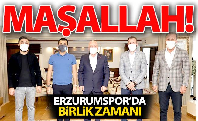 Erzurumspor'da beraberlik zamanı...