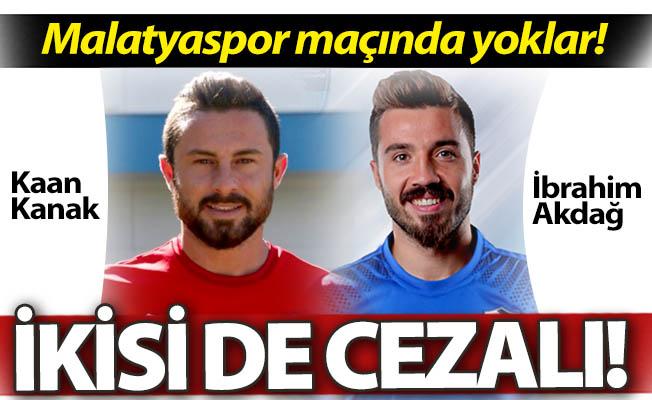 Malatyaspor maçında yoklar!..