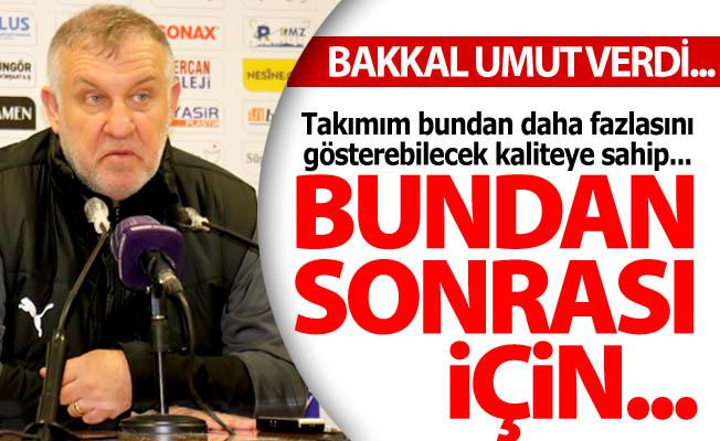 Mesut Bakkal umut verdi...