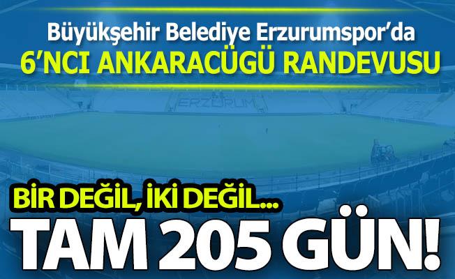 Erzurumspor'da 6'ncı Ankaragücü randevusu