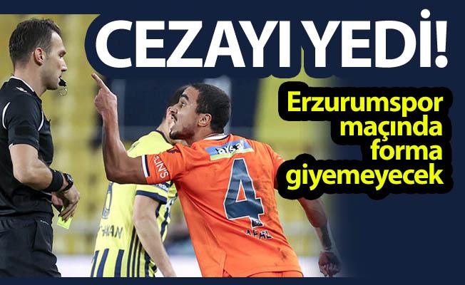 Erzurumspor maçına çıkamayacak!