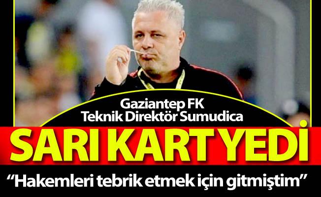 Sumudica Erzurum'da sarı kart yedi!