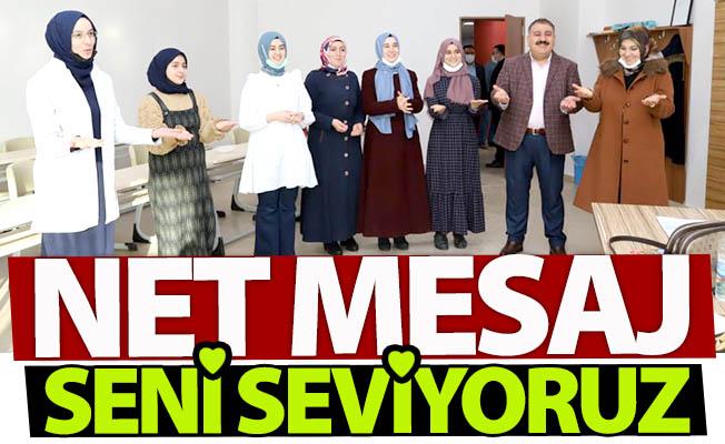 Erdoğan'a mesaj gönderdiler...