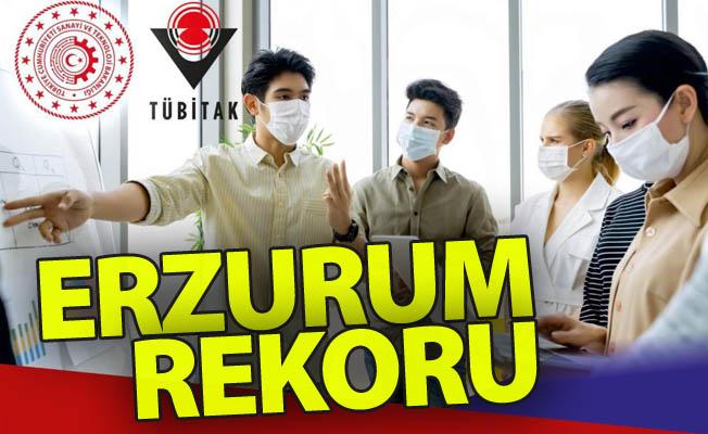 TÜBİTAK'a Erzurum'dan rekor başvuru