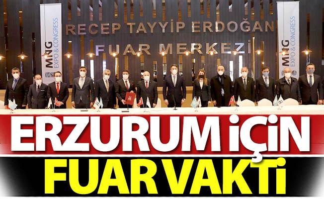 Erzurum için fuar vakti!