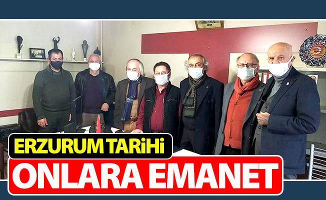 Erzurum tarihi onlara emanet