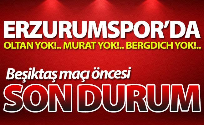 İşte Erzurumspor'da son durum!