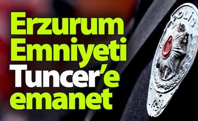 Erzurum Emniyeti'nde görev değişimi