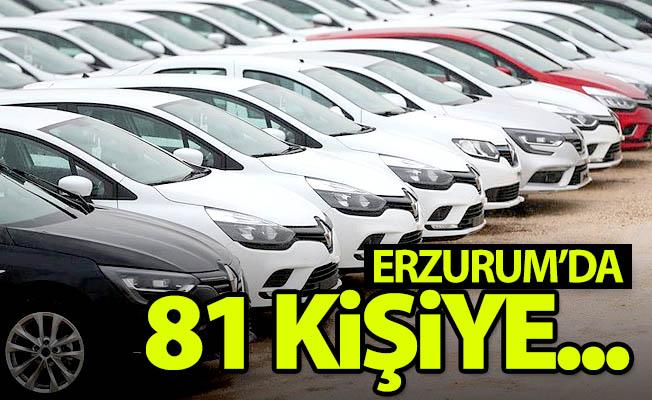Erzurum'da 81 kişiye...