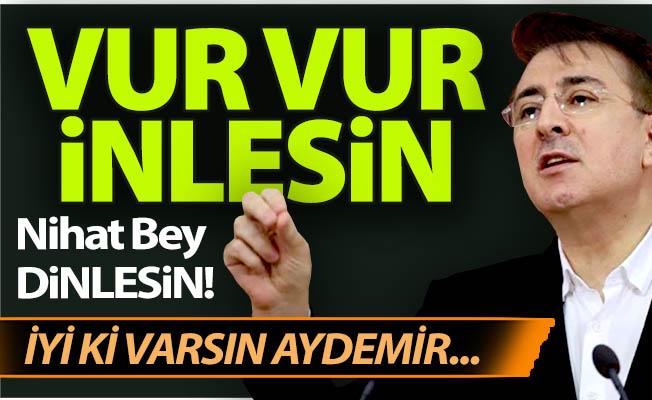 Aydemir'den Erzurumspor tepkisi!