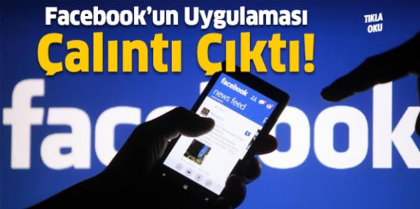 Facebook'un Uygulaması Çalıntı Çıktı!