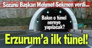 Sekmen'den tünel açılımı...