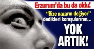 Erzurum'da bu da oldu!