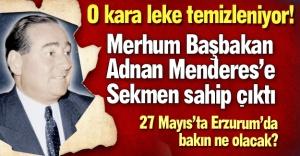 Erzurum kara bir lekeden kurtuluyor!