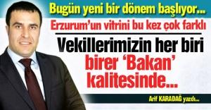 Erzurum'un vitrini bu kez çok farklı!