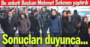 Büyükşehir'den Erzurum anketi